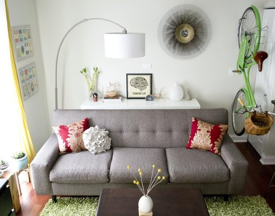 Small Spaces Decor Inspiration from Apartment Therapy | College Gloss