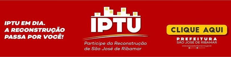 IPTU EM DIA - SÃO JOSÉ DE RIBAMAR
