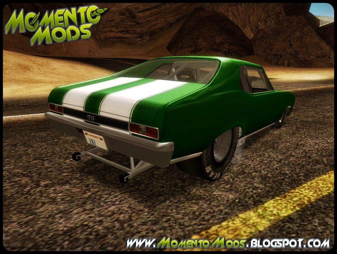 GTA SA - Nova Chevrolet 1969 ProStreet Dragger