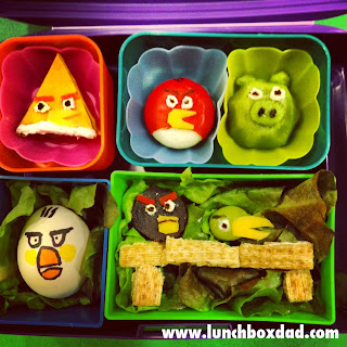 Angry Birds kids back to school lunch