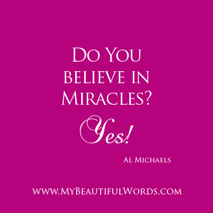 do you believe in miracles Do you believe in miracles is the twenty-third episode and season finale of season 9 of supernatural metatron makes his move against humanity with all the angels now on his side, and with dean out of control, sam must find metatron on his own while dean seeks out crowley for help.