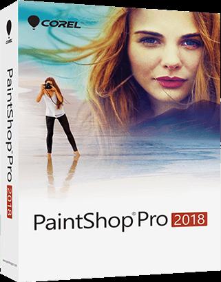 Corel PaintShop Pro 2018 20.1.0.15 portable poster box cover