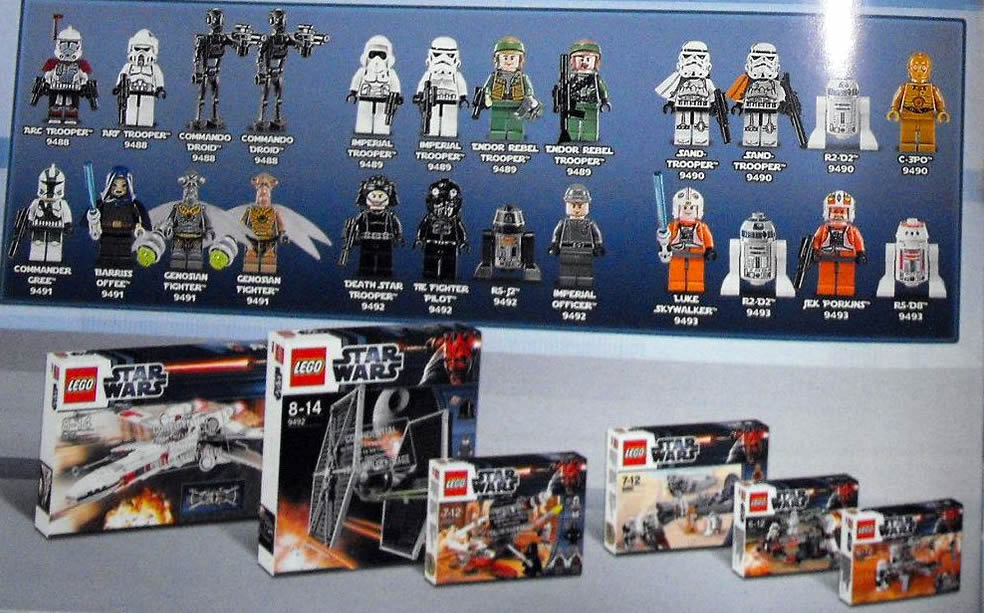 Star Wars Lego 2012: Minifigure Pictures and New Sets | Lego ...