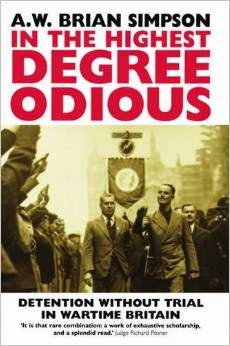 Book Cover - In the Highest Degree Odious - A.W. Brian Simpson (1984)