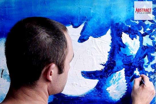 Online painting video tutorials by Peter Dranitsin
