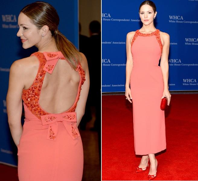 Katharine Mcphee In Paule Ka At The White House Correspondents
