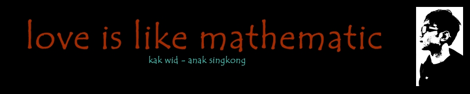 love is like mathematic
