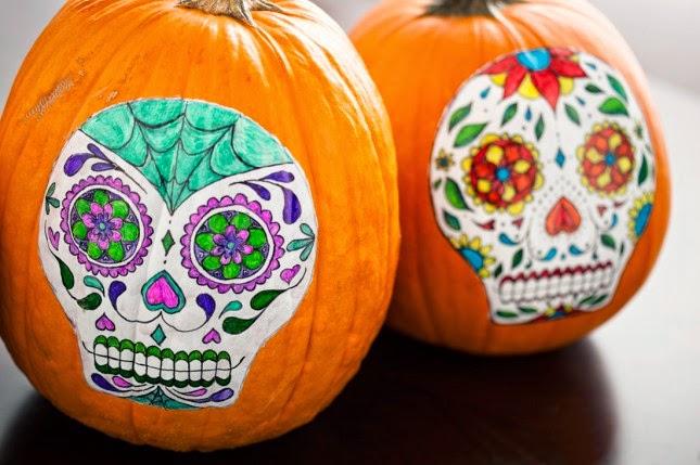 ListasDe10com Calabazas Decoradas para Halloween 10 Ideas Modernas