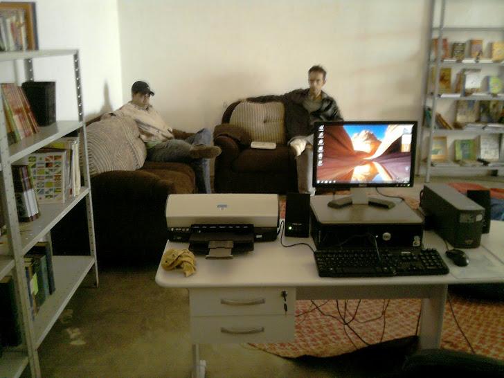 Mobilia adquirida com recursos do Edital de Apoio a Bibliotecas Comunitárias do Estado da Bahia