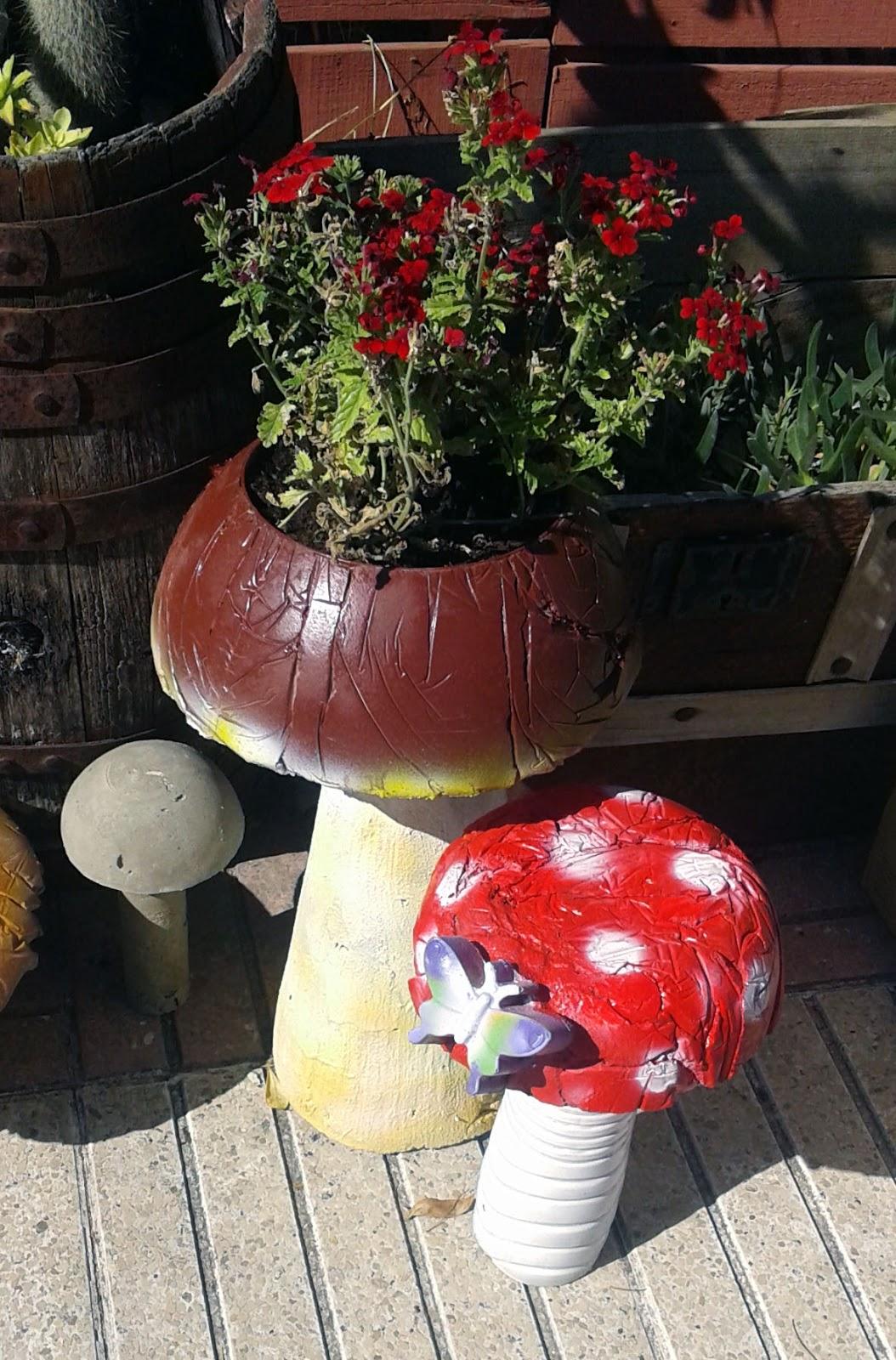 Villarochel el rincon magico manual para hacer setas de for Setas jardin