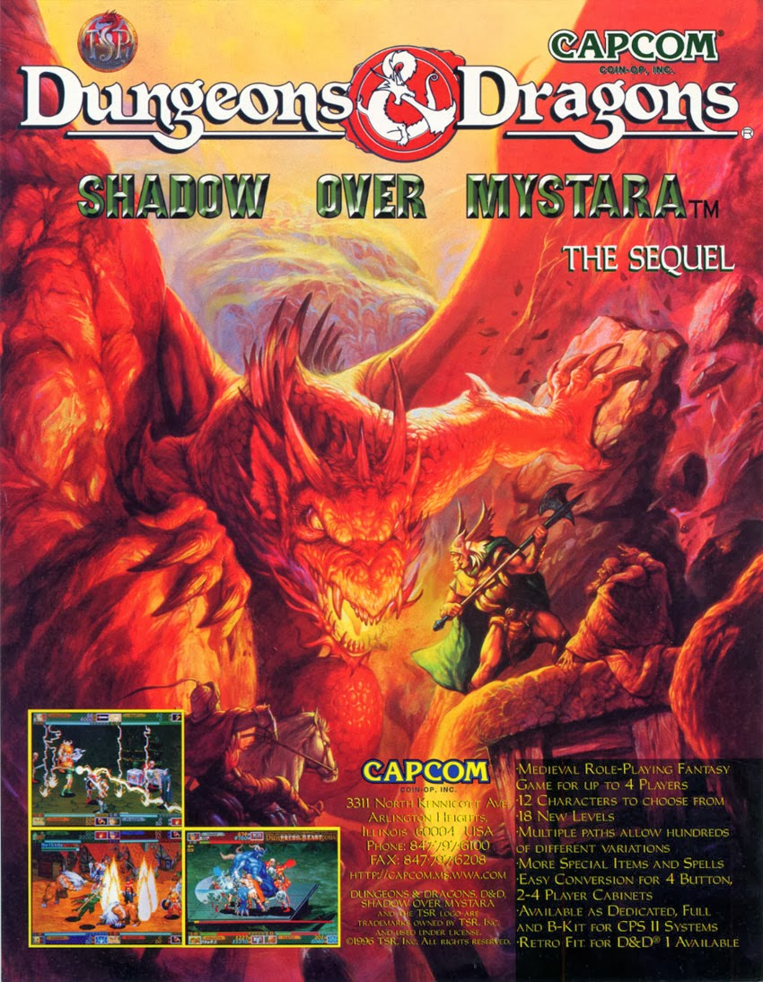 Dungeons And Dragons Arcade Rom