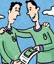 Emprestar dinheiro a amigos, Anedotas de Açorianos