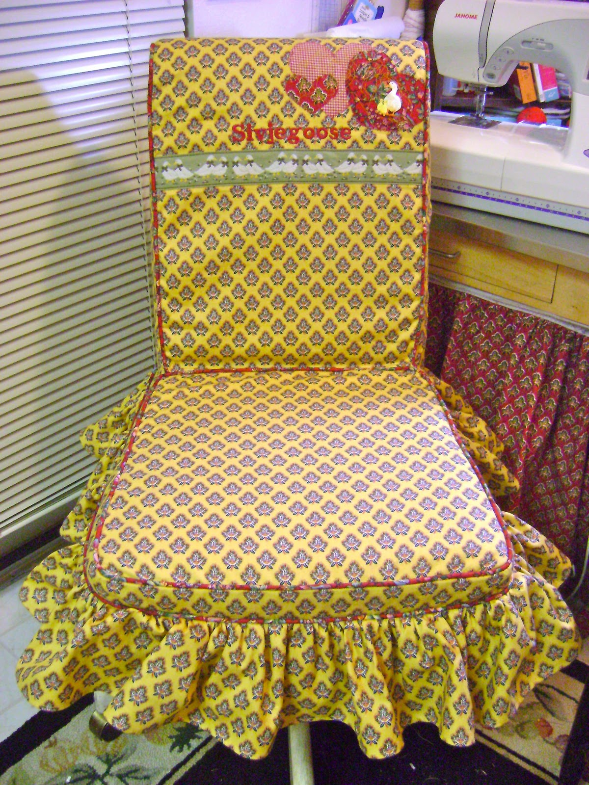 Чехлы на стулья рукоделие