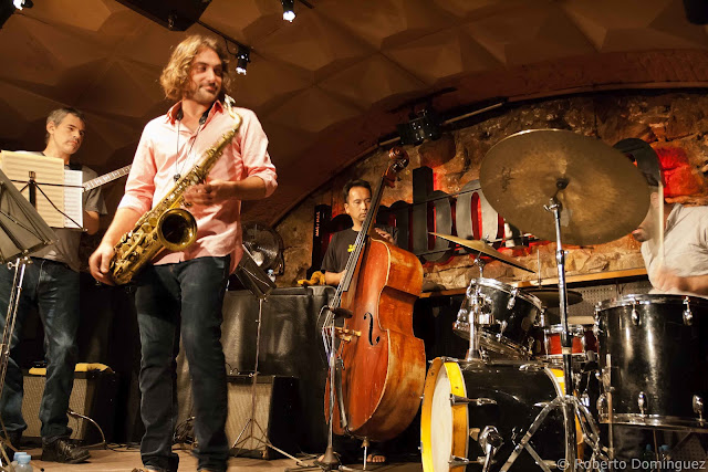 Noah Preminger Quartet featuring Ben Monder