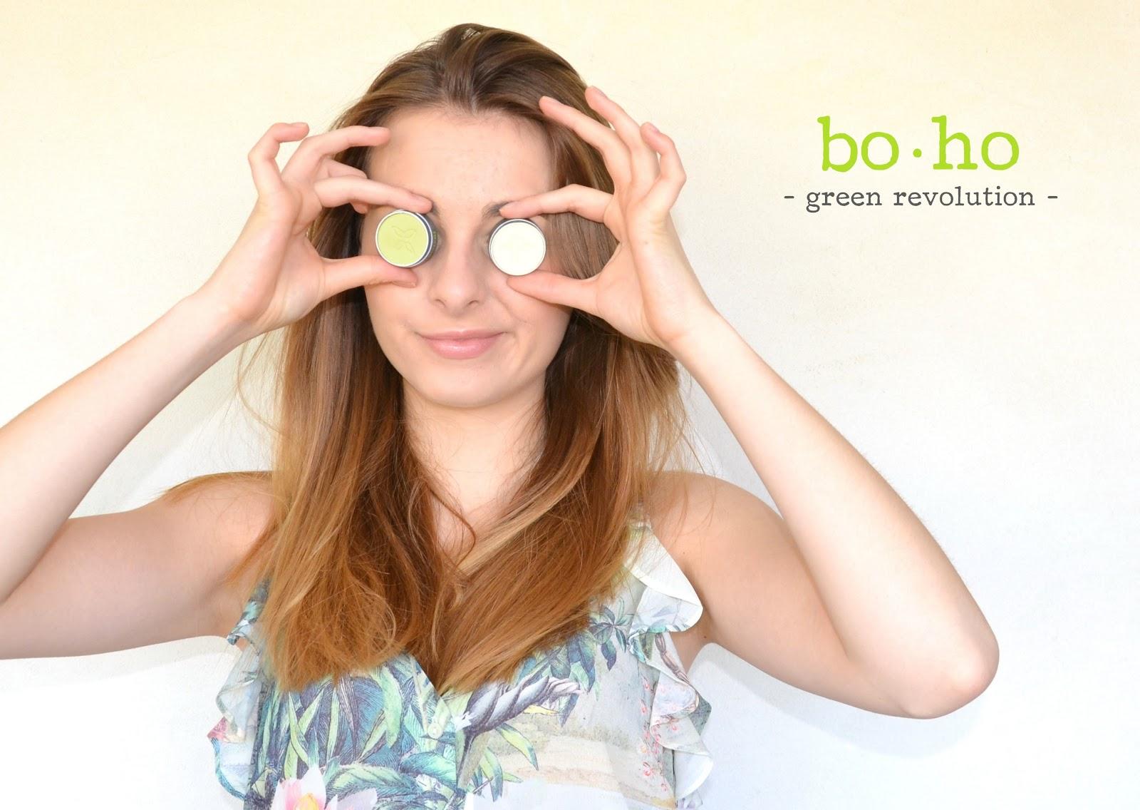 boho green maquillage bio