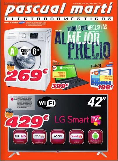 pascual marti ofertas septiembre 2014