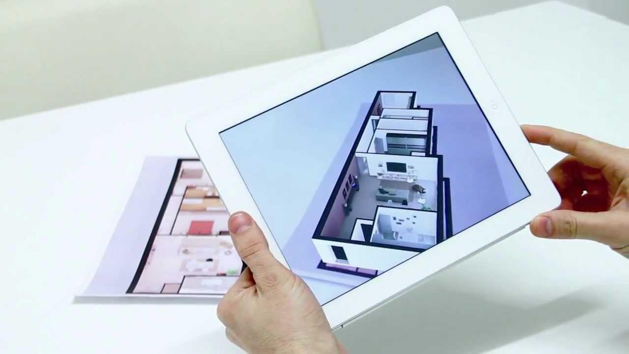 Aplicativo permite visualizar sua planta baixa em 3d - App para disenar casas ...