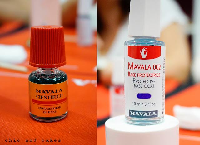 Mavala científico y mavala 002