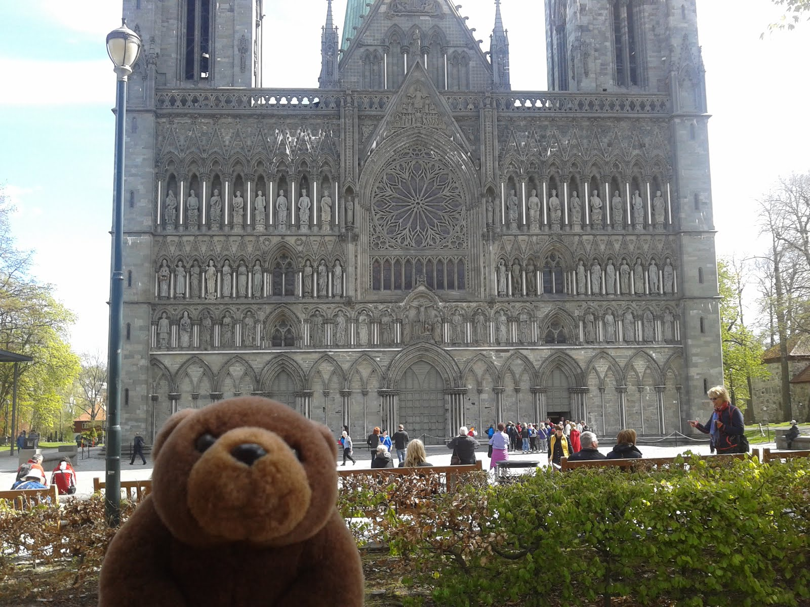 Teddy Bear in Trondheim, Norway