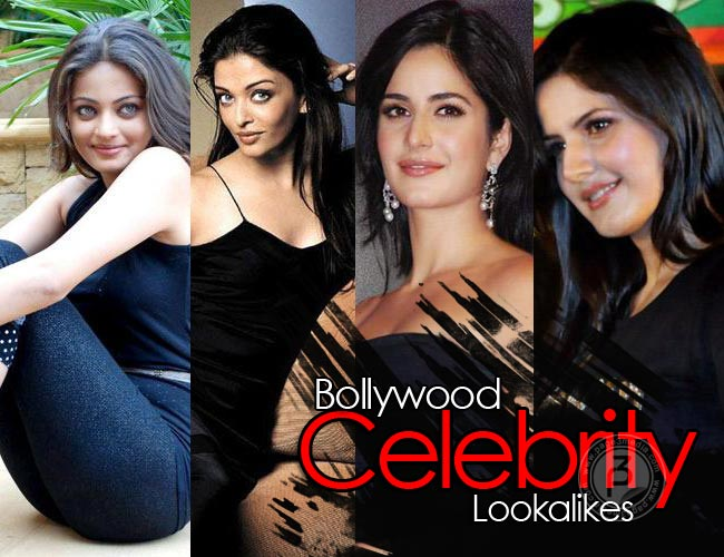 Bollywood Celebrity Look-Alike - Bollywood Celebrity Look-Alikes