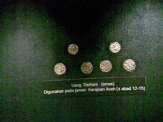 Uang derham pada jama kerajaan aceh abad 12-15