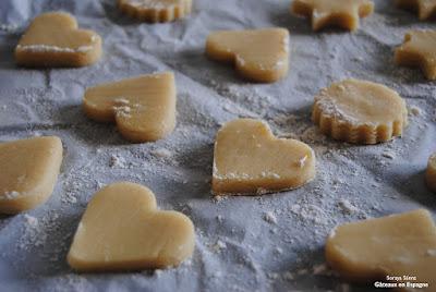 recette saindoux sables biscuits facile
