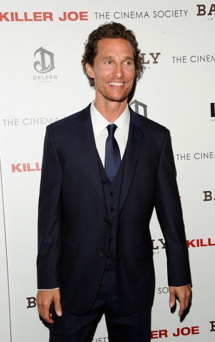 Matthew McConaughey style and look