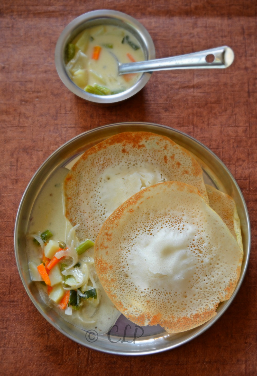 Kerala vegetable stew recipe - side dish for appam