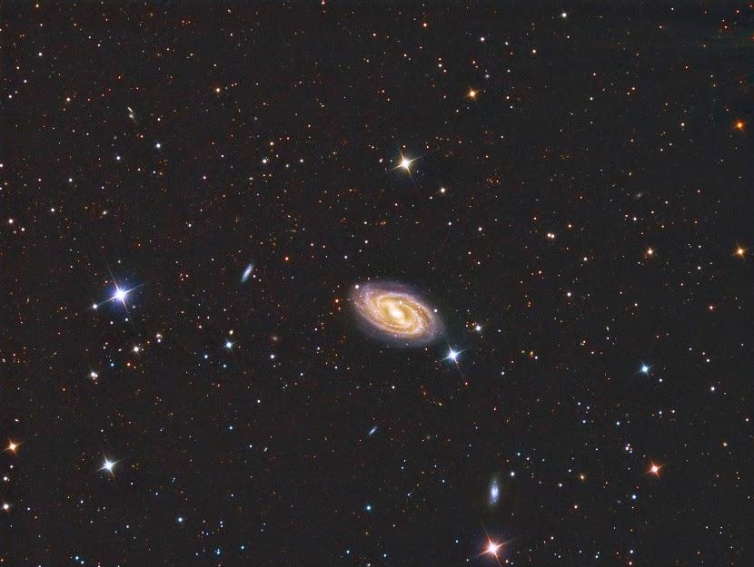 M109 barred spiral galaxy © Reinhold Wittich