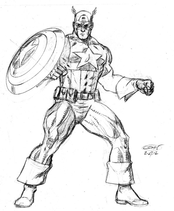 Learn How To Draw Falcon From Captain America Civil War: Cohn(an) The Scribarian: February 2012