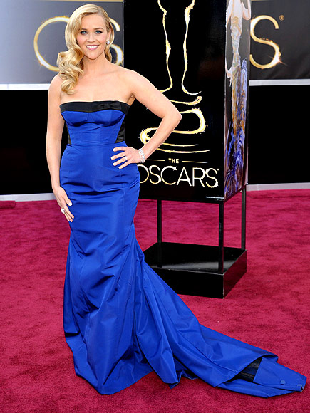 Reese Witherspoon Oscars dress, Louis Vuitton