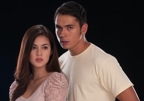 Shaina Magdayao and Jake Cuenca in Kung Ako'y Iiwan Mo