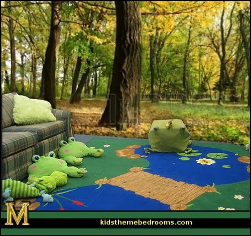 Decorating theme bedrooms maries manor frog theme for Forest themed bedroom ideas
