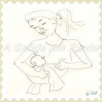 O leite materno é muito importante para o bebê, ele é a sua primeira vacina, por conter muitos anticorpos. A amamentação e o aleitamento materno é benéfico tanto para a mãe quanto para o bebê