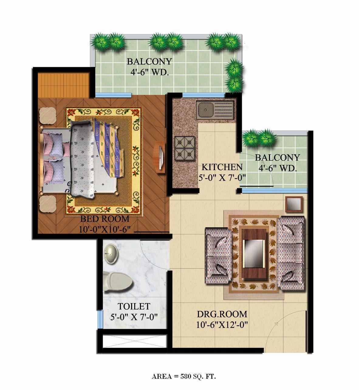 Foundation dezin decor home plans layouts for Studio apartments plans
