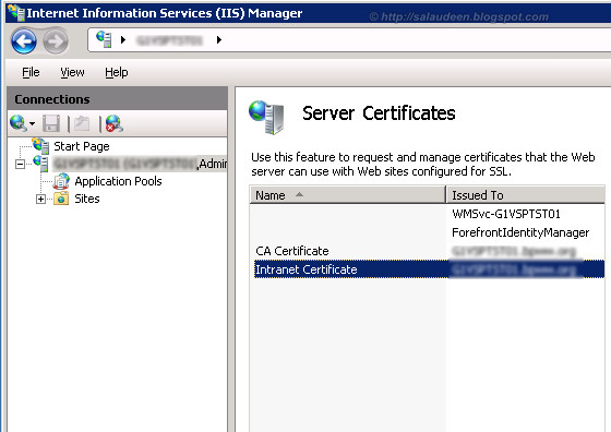 sharepoint 2010 apply ssl certificate