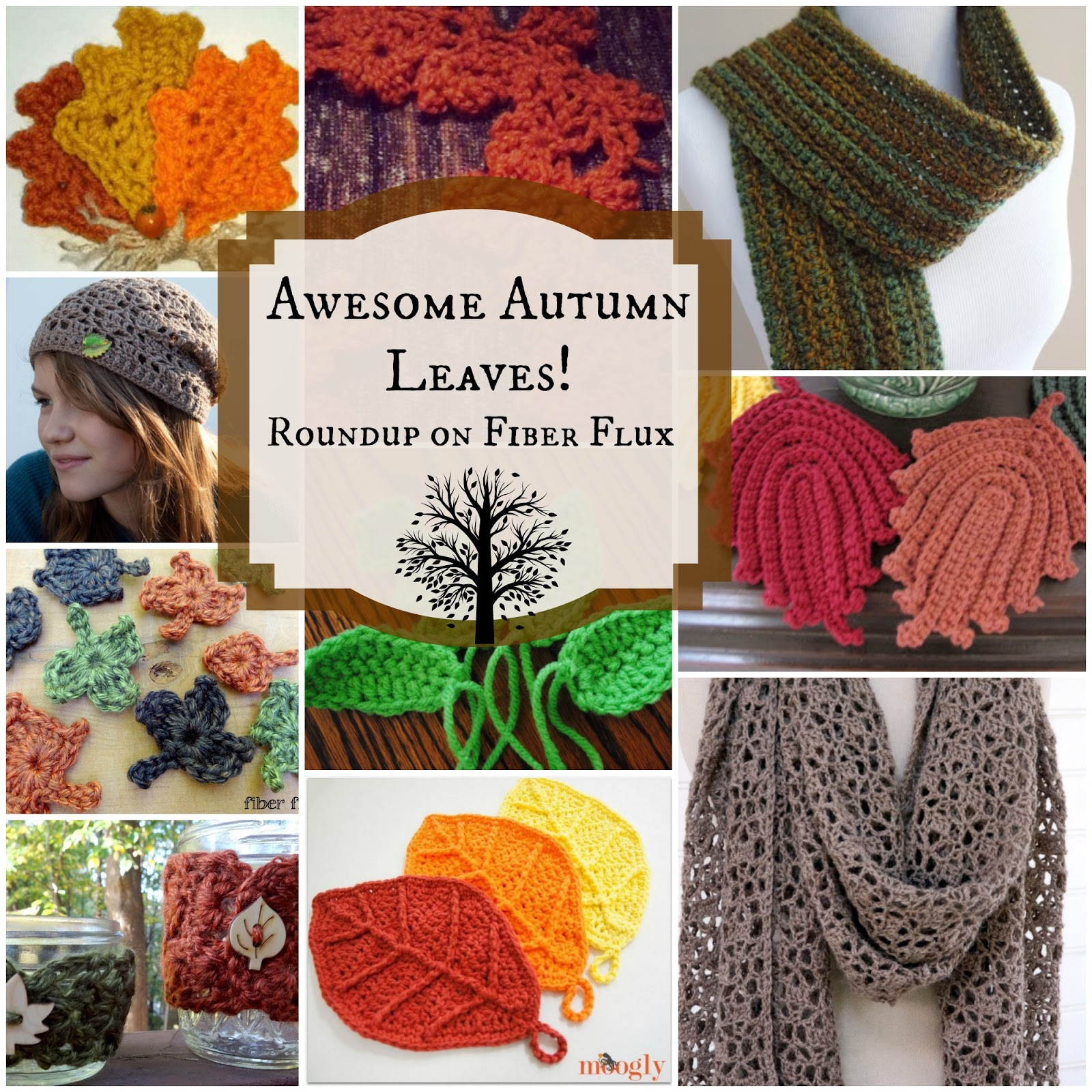 Fiber flux awesome autumn leaves 10 free crochet patterns awesome autumn leaves 10 free crochet patterns bankloansurffo Image collections