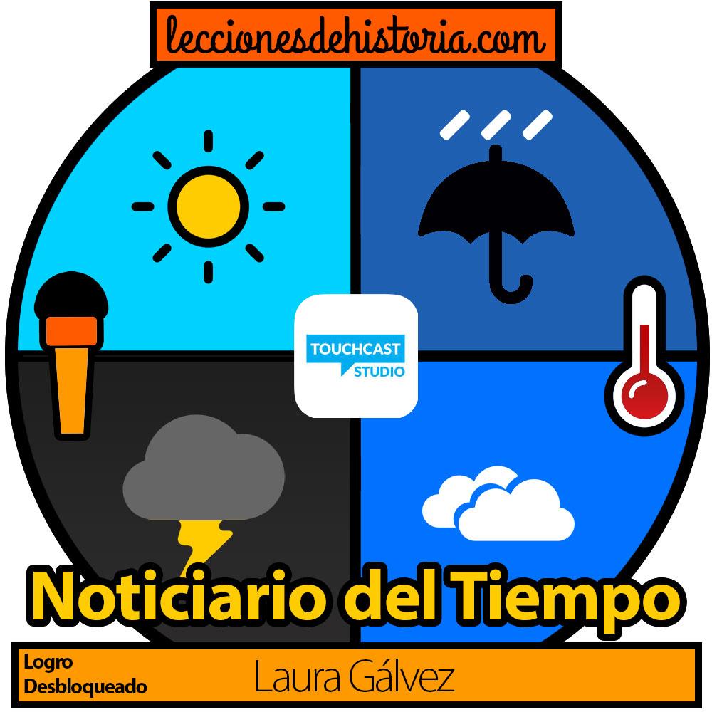 Insignia Noticiario Del Tiempo