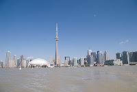 Skyline Toronto seen from Toronto Islands