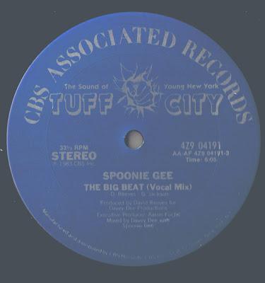 Spoonie Gee – The Big Beat (VLS) (1983) (256 kbps)