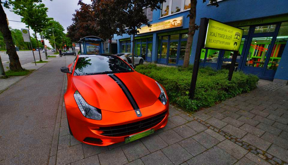 Ferrari FF Orange Rot Chrome Novitec Rosso Pictures