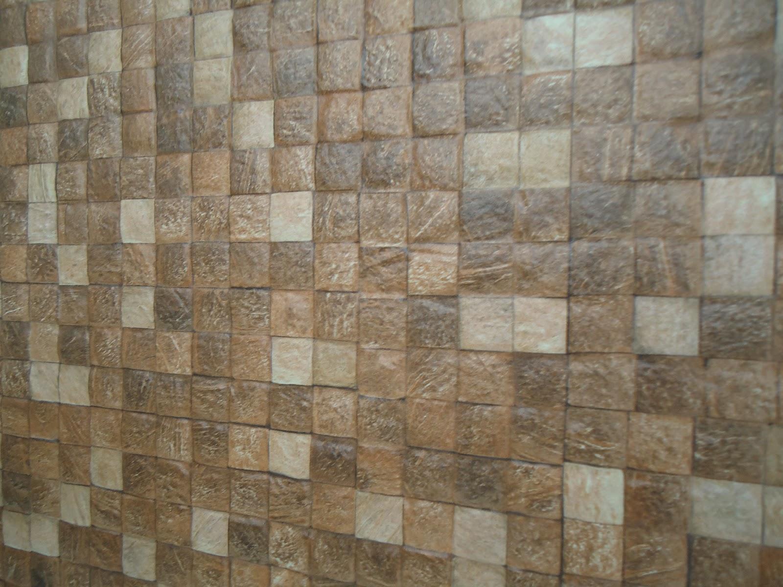 : Porcelanatos Imitando Canjiquinha e Pastilhado de Coco Via Rosa #5F4F3B 1600x1200 Banheiro Com Porcelanato Via Rosa