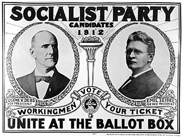 a biography of eugene victor debs the leader of the american socialist party Debs, eugene v (eugene victor)  a biography of eugene victor debs by ray ginger  labor organizer and leader of the socialist party,.