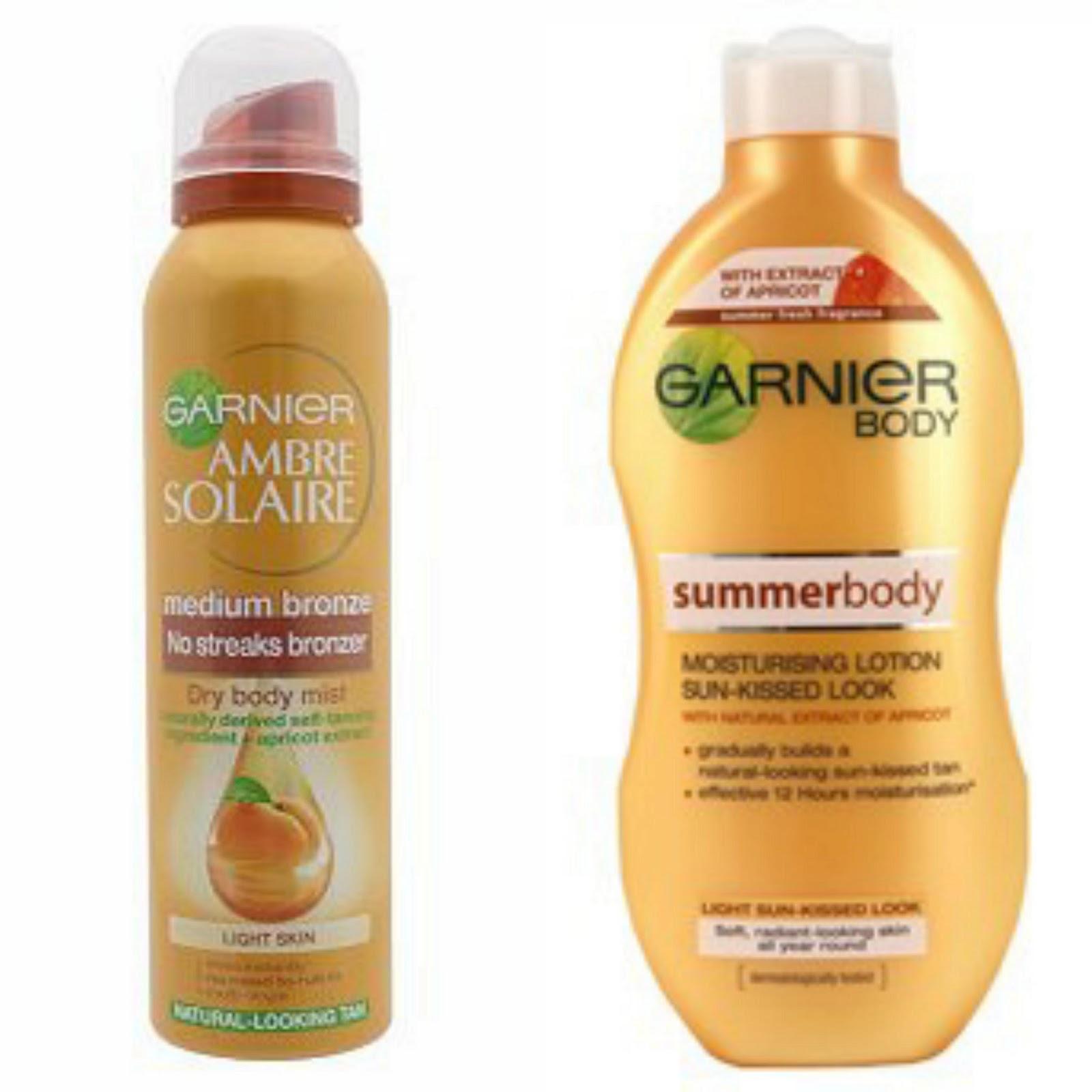 how to use garnier gradual tan