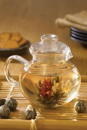 jasmine flowering tea