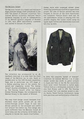 THE BUNKER NIGEL CABOURN マロリージャケット