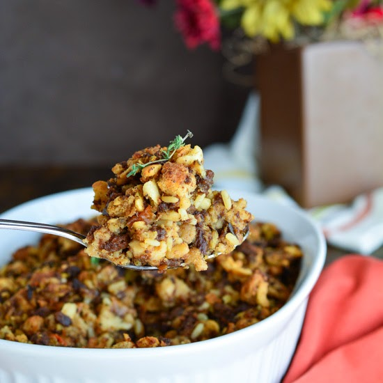 Thanksgiving Stuffing | by Garnish and Glaze