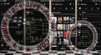 BBM Mod Tema Full Black New Versi 290.0.0.1.217 Apk