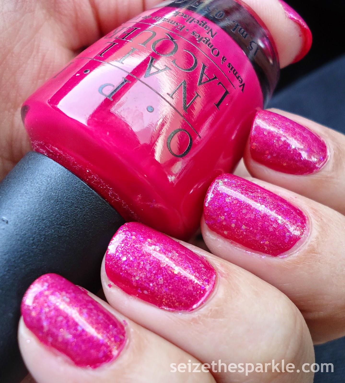 Pink Jelly Glitter Sandwich