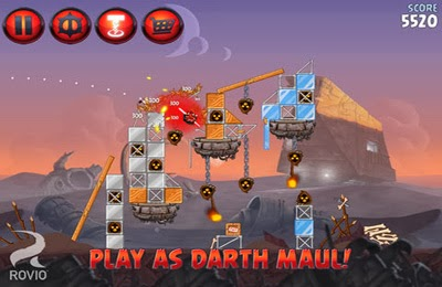free online games of angry birds star wars 2